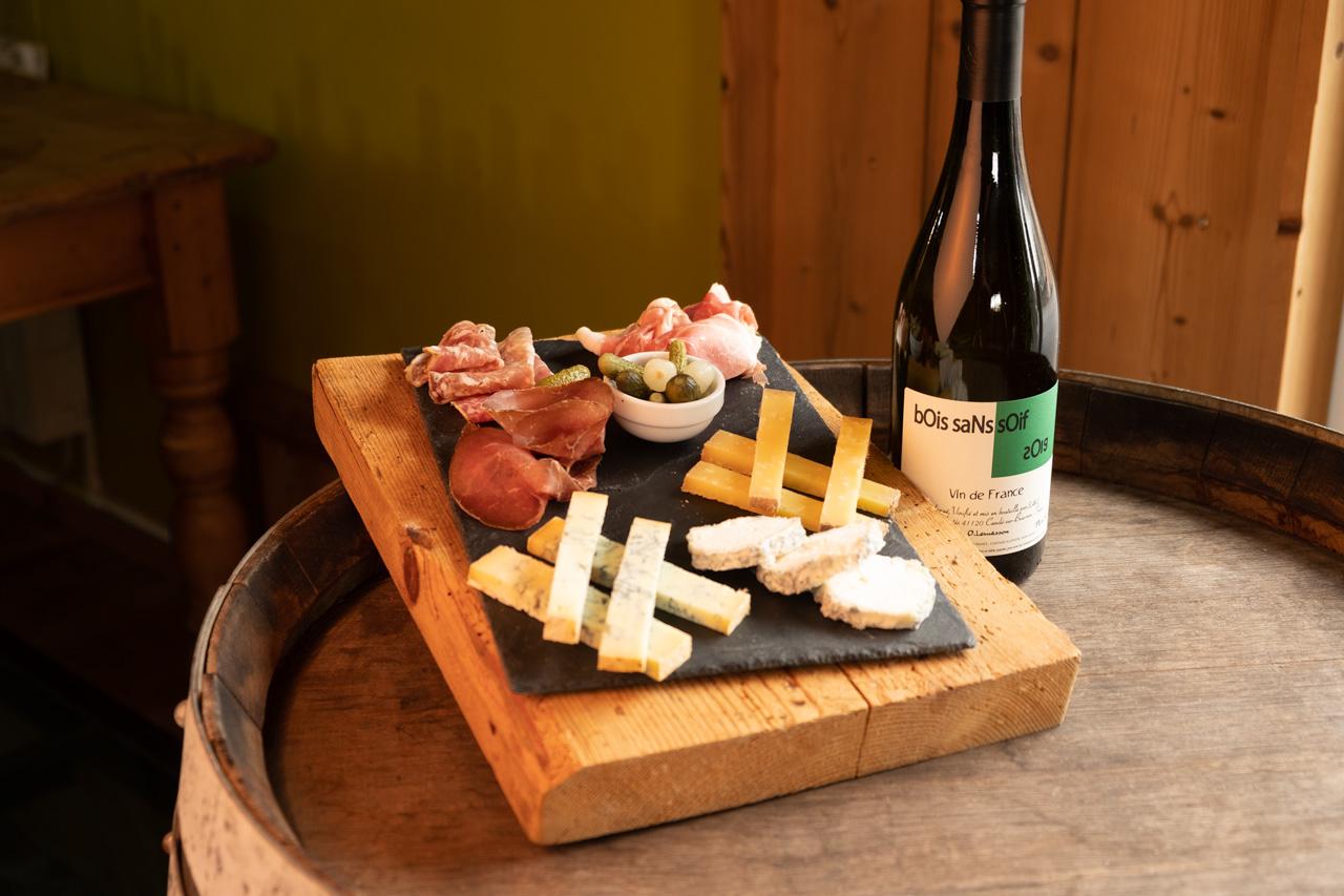 La Grange aux Vins – Plat charcuterie et fromages